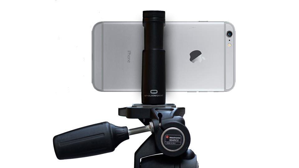 Best accessories for iPhone photography: Shoulderpod