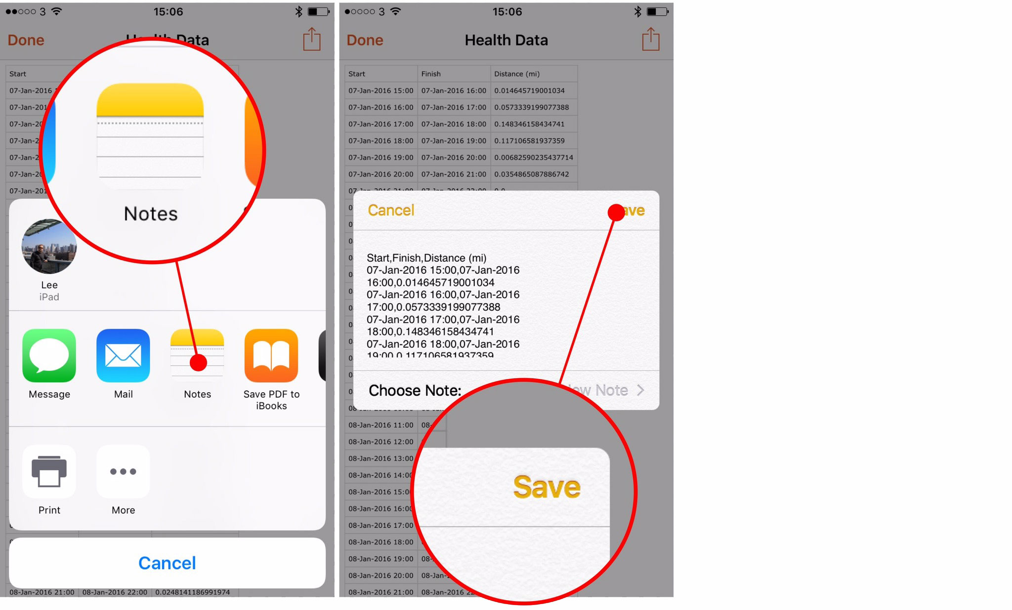 How to export Health app data on iPhone and iPad - The App