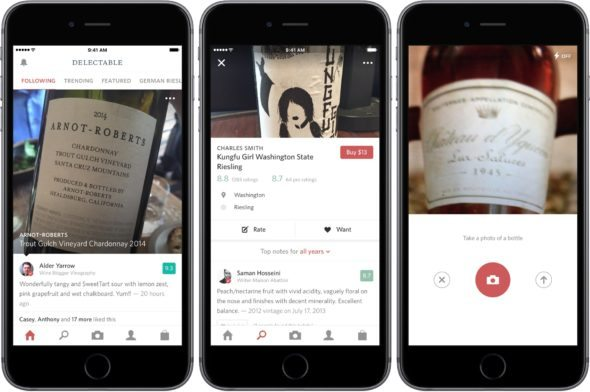 how to find the perfect bottle of wine with your iphone