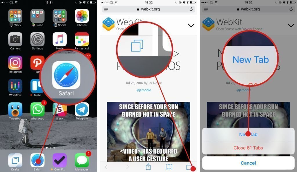 3 useful Safari tricks on iOS 10