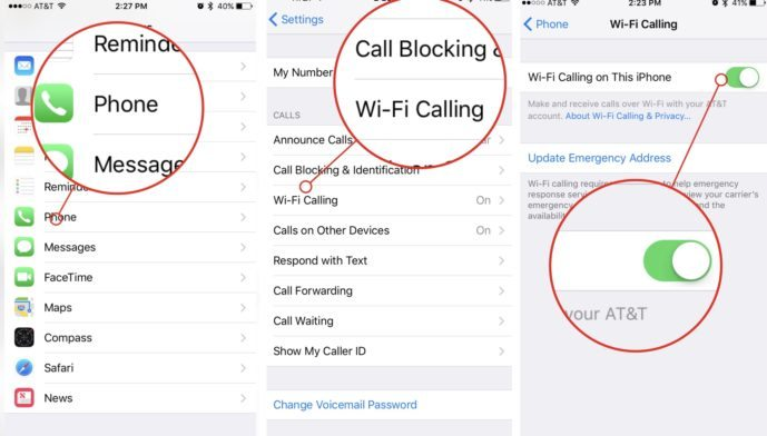 How to setup Wi-Fi Calling on iPhone