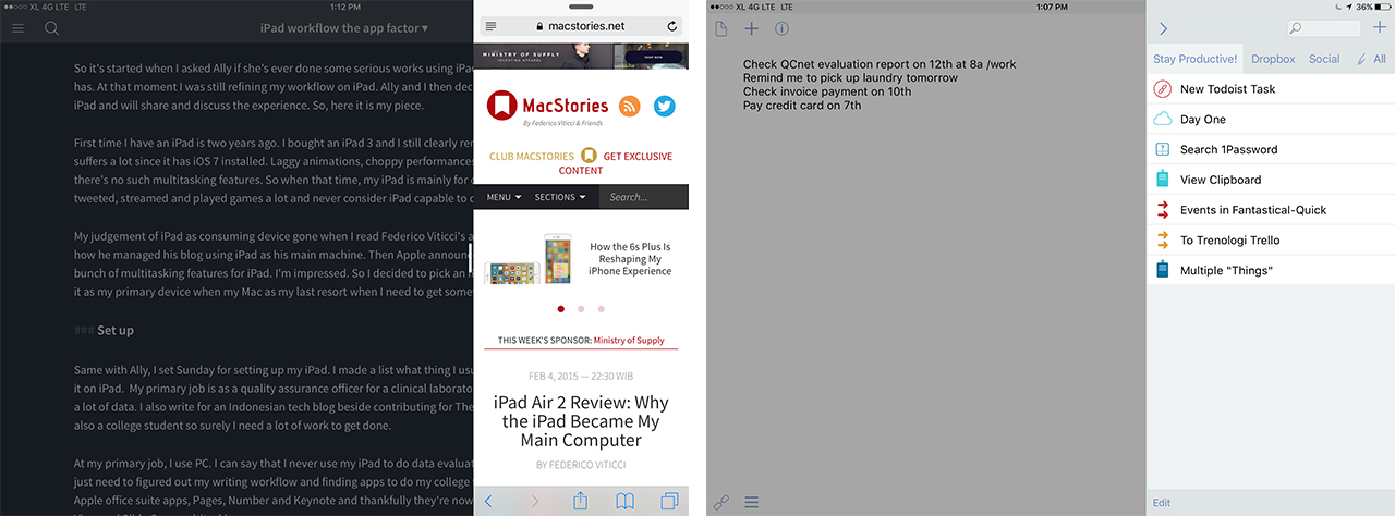 Are there any writing apps for iPad 2?