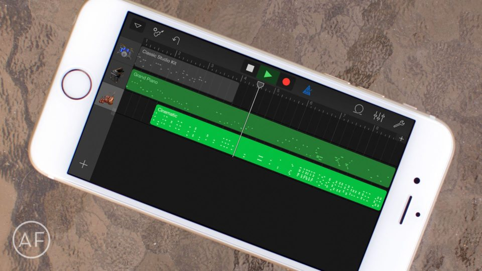 How to share from GarageBand to Google Drive