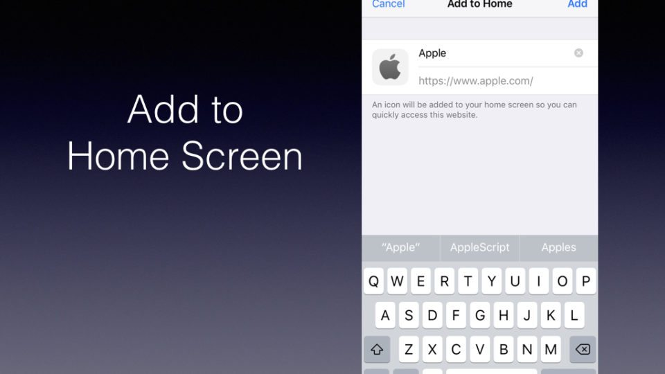 How To Bookmark A Website On Your Ios Home Screen The App Factor