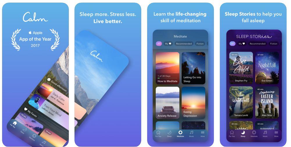 Calm stress apps