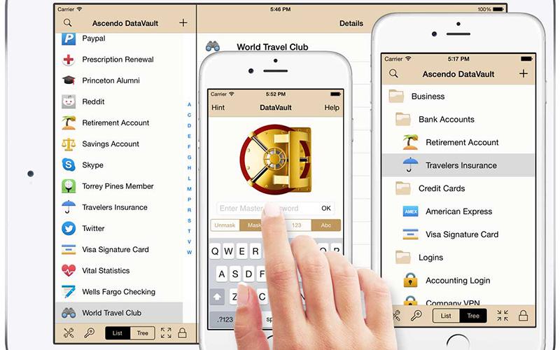 iphone password storage app reviews